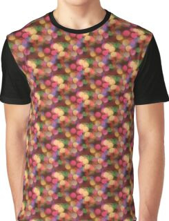 Colourful lens dots Graphic T-Shirt