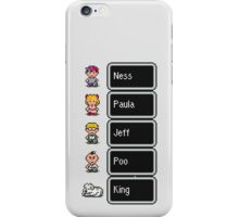 Earthbound - Characters with names iPhone Case/Skin