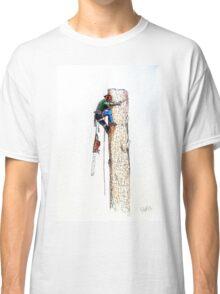Arborist Tree Surgeon Lumberjack Logger Stihl Classic T-Shirt