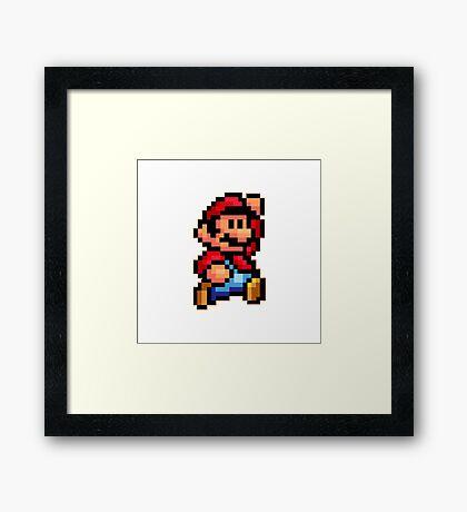Super mario! Framed Print