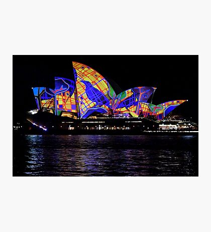 Vivid 2016 Opera House 30 Photographic Print