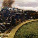 Old Train by Jessica Liatys