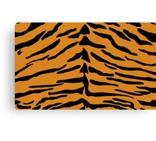 Tiger Skin Pattern Canvas Print