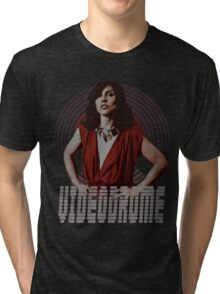 Videodrome Deborah Harry Tri-blend T-Shirt