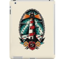 Lighthouse Traditional Tattoo Style iPad Case/Skin