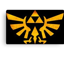 °GEEK° Zelda Triforce Rust Logo Canvas Print