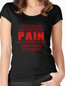 Forged by Pain Women's Fitted Scoop T-Shirt