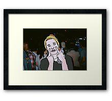 Slug Christ Framed Print