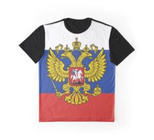Russia Coat of Arms Graphic T-Shirt