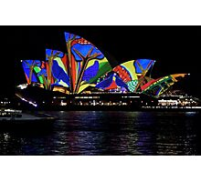 Vivid 2016 Opera House 32 Photographic Print