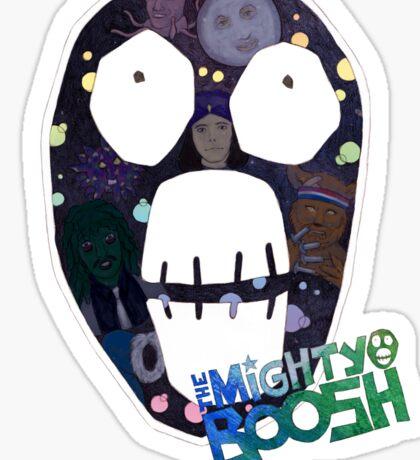 Mighty Boosh big face Sticker
