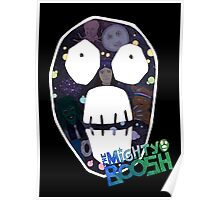 Mighty Boosh big face Poster