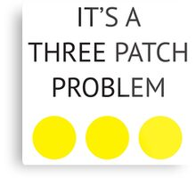 A Three Patch Problem Metal Print