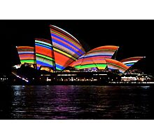 Vivid 2016 Opera House 34 Photographic Print