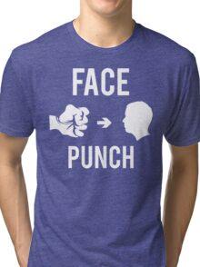 Face Punch Tri-blend T-Shirt