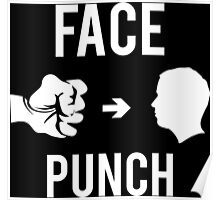 Face Punch Poster