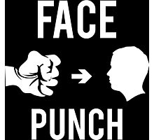 Face Punch Photographic Print