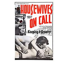 Housewives on Call Retro 50's Movie Photographic Print