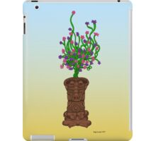 Blooming Tiki iPad Case/Skin