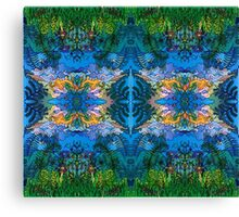 Faces in the Forest Canvas Print