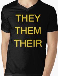 THEY/THEM/THEIR Mens V-Neck T-Shirt