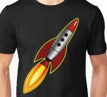 Retro Rocket Unisex T-Shirt