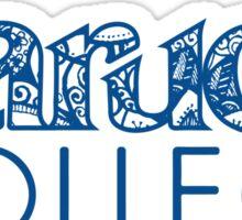 Baruch College doodle Sticker