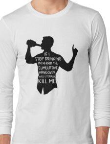 Archer - Cumulative Hangover  Long Sleeve T-Shirt
