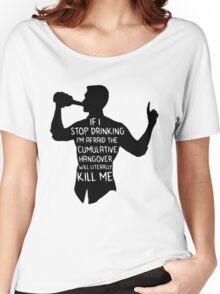 Archer - Cumulative Hangover  Women's Relaxed Fit T-Shirt