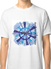 Digital Ice by Jeronimo Rubio - Copyright 2016 Classic T-Shirt