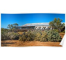 Kinchega Woolshed Poster