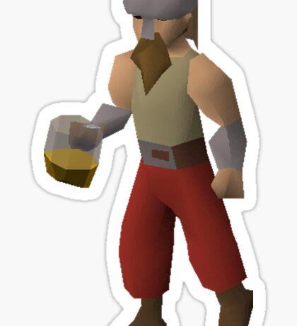 Drunken Dwarf Sticker