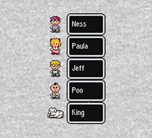Earthbound - Characters with names Classic T-Shirt