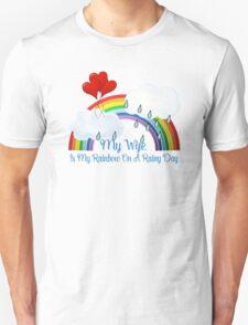 Wife Is My Rainbow Unisex T-Shirt