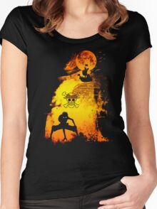 captain silhouette Women's Fitted Scoop T-Shirt