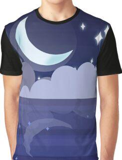 Ocean Night Graphic T-Shirt