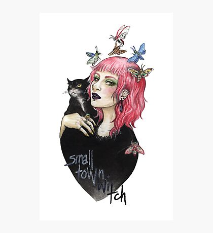 small town witch Photographic Print