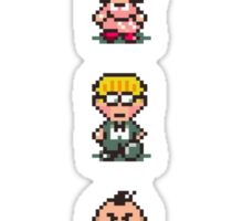 Earthbound - Characters Sticker
