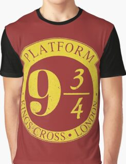 9 3/4 Harry Potter Inspired  Graphic T-Shirt