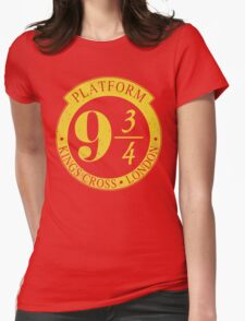 9 3/4 Harry Potter Inspired  Womens Fitted T-Shirt