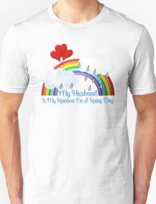 Husband Is My Rainbow Unisex T-Shirt