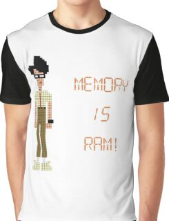 The IT Crowd – Memory IS RAM! Graphic T-Shirt