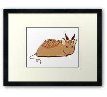 Demonic Hamster Framed Print
