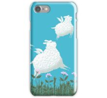 Flying Sheep Meadow Larks iPhone Case/Skin