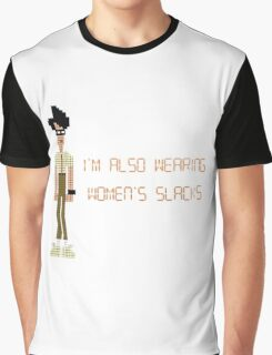 The IT Crowd – I'm Also Wearing Women's Slacks Graphic T-Shirt