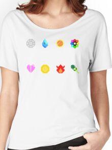 Pixelmon Badges Women's Relaxed Fit T-Shirt