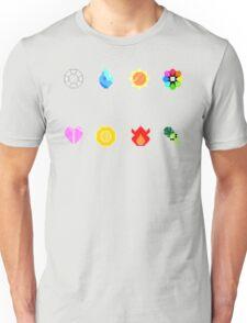 Pixelmon Badges Unisex T-Shirt