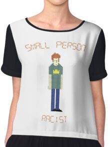 The IT Crowd – Small Person Racist Chiffon Top