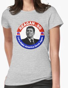 Ronald Reagan for President 1980  Womens Fitted T-Shirt