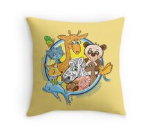 Animals Mix Nr. 2 Throw Pillow
